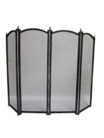 "24"" Four Fold Fire Screen"