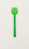 Flat Edge Spoon Wide - Copolester Trans Green