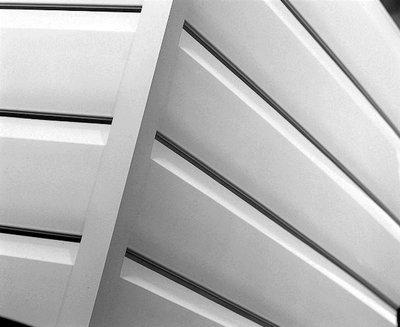 Shiplap Cladding External Corner Angle White PVC 5mtr (To Order)
