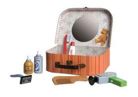 Wooden Toy Shaving Kit