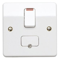 MK LOGIC PLUS  SWITCHED SPUR UNIT WITH NEON INDICATOR