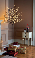 6FT Cherry Blossom Tree (Warm White Led) )
