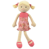 Small Sophie rag doll - standing