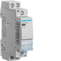 Hager Installation 2 pole  contactor NC for distribution board