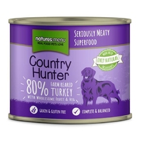 Natures Menu Country Hunter Dog Can - Turkey & Cranberry 600g x 6