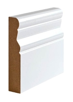 WHITE ARCHITRAVE SQUARE PROFILE (PAO) - 95X18 - 34FT PACK