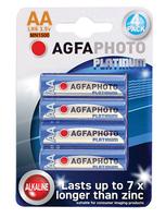 AgfaPhoto Digital Alkaline Battery AA Card 4