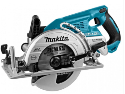 Makita DRS780Z Twin 18v/36v Brushless Circular Saw 1700w 5100rpm 65mm Cutting Depth 165x16/30mm Blade 5.6kg Bare Unit