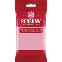 RENSHAW READY TO ROLL ICING PINK (1 x 250g)
