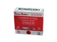Carbon Steel Sterile Blades - Red