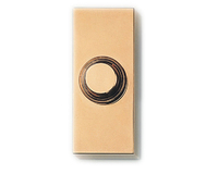 Friedland Bell Push - Halo - D624 - Brass