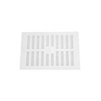 White Plastic Vent Adjustable 9x6'' (WT1801)