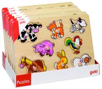 Animal,Emergancy,Vehicle peg puzzle disp(7)