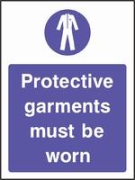 Mandatory and Protective Clothing Sign MAND0005-0910