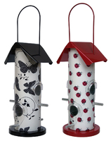 Supa Contemporary Seed Feeder - Butterfly/Ladybird Pattern x 2
