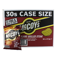 Mccoys Flame Grilled Steak Crisps 30x47.5g