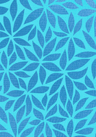50CM X 100M TURQUOISE FLOWER (099015) (PER ROLL)