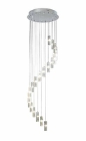 Galileo 20 Light Cluster LED Pendant, Polished Chrome | LV1802.0068