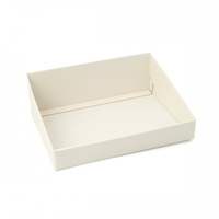 TRAY H/BACK,L/FRONT 31X24X10CM SOFT WH