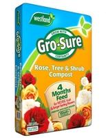 Gro-Sure Compost Rose, Tree & Shrub 50lt