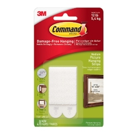 Command Medium Picture Hanging Strips Value Pack 17201-4PK