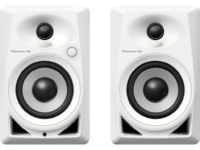 Pioneer DM-40-W (White) | 4-inch compact active monitor speaker (White)