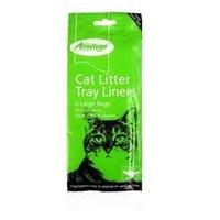 Armitage Cat Litter Tray Liner - Medium (Blue) 6-Pack x 12