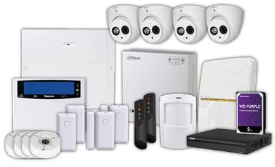 KIT: Alarm + CCTV