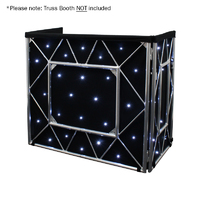 Equinox Truss Booth LED Starcloth System, CW