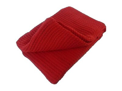 HYPAGUARD Cellular Blanket Red