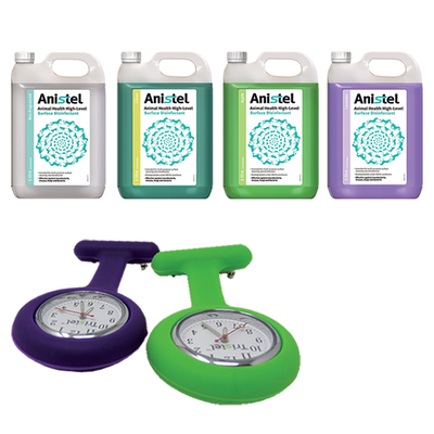 Anistel H/L Surface Disinfectant 5L + 2 Free Fob Watches