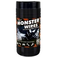 Industrial Antibac Monster Wipes Dirt-Oil-Grease-Glue Pottle 80