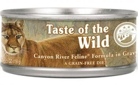 TOW Cat Cans - Canyon River Formula in Gravy 155g