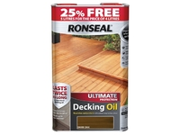 RONSEAL ULTIMATE PROTECTION DECK OIL DARK OAK 4LTR+25%