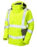 Leo Exmoor Breathable Jacket Yellow