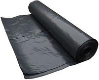 VISQUEEN RADON BARRIER 4X20M 300MICRON ROLL - BLACK - L