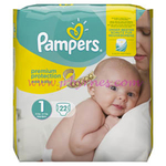 Pampers New Baby Size 1  22 x4