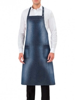 Chef Adjustable Bib Denim Apron - 17P01H906