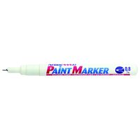 Artline 444XF Pen Paint Marker - White
