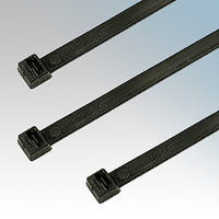 NCT370 Cable Tie 370* 7.6 Black  (Pack 100)