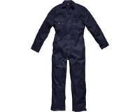 DICKIES Redhawk Boiler Suit Stud Front Size: Medium