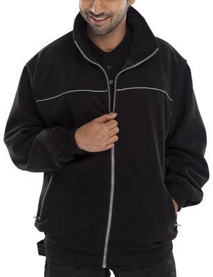 Click Endeavour Black Heavy Weight Fleece Jacket