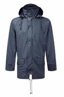 "Airflex Breathable Rain Jacket Navy Large (44-46"")"