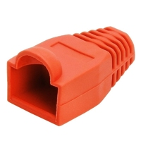 RJ45 Strain Relief Boot - Red