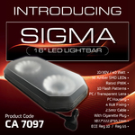 "247 Lighting 16"" SIGMA Light Bar"