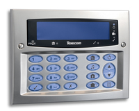 Texecom Premier Elite SMK Satin Chrome Surfac