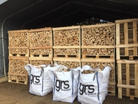 KILN DRIED FIREWOOD ASH 1.173 M3 CRATE FREE DELIVERY WITHIN 20 MILES