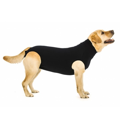 Suitical Recovery Suit Dog Black
