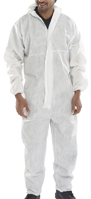 Disposable Coverall White White Type 5/6