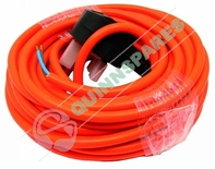 12 Meter 1.0mm 2 Core Mains Cable Orange